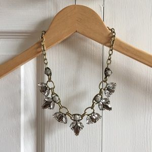 Jewel Crystal Statement Necklace